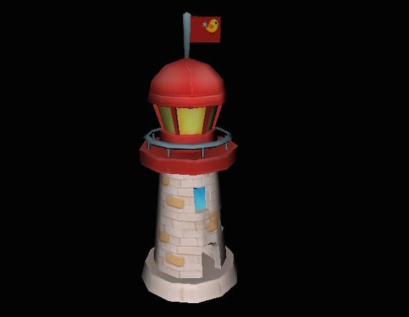 Light House - 3DOcean Item for Sale