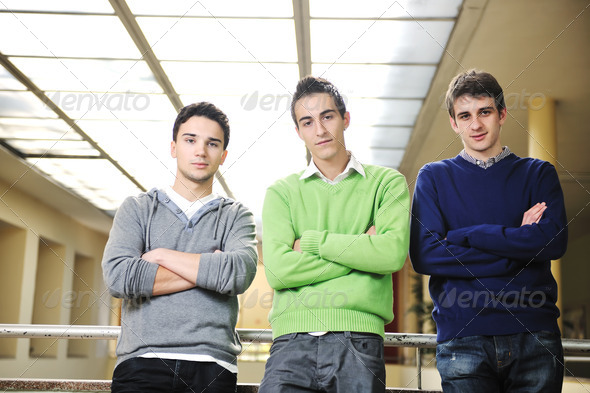 students group - Stock Photo - Images