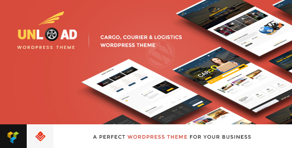 Download Unload - Cargo, Shipping, Logistics, Trucking, Warehouse & Transport WordPress Theme nulled download