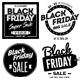 15 Black Friday Sale Badges