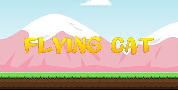 Flying Cat - Construct 2 Game Template