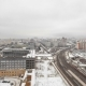 View Of The Development Of Moscow Winter Day