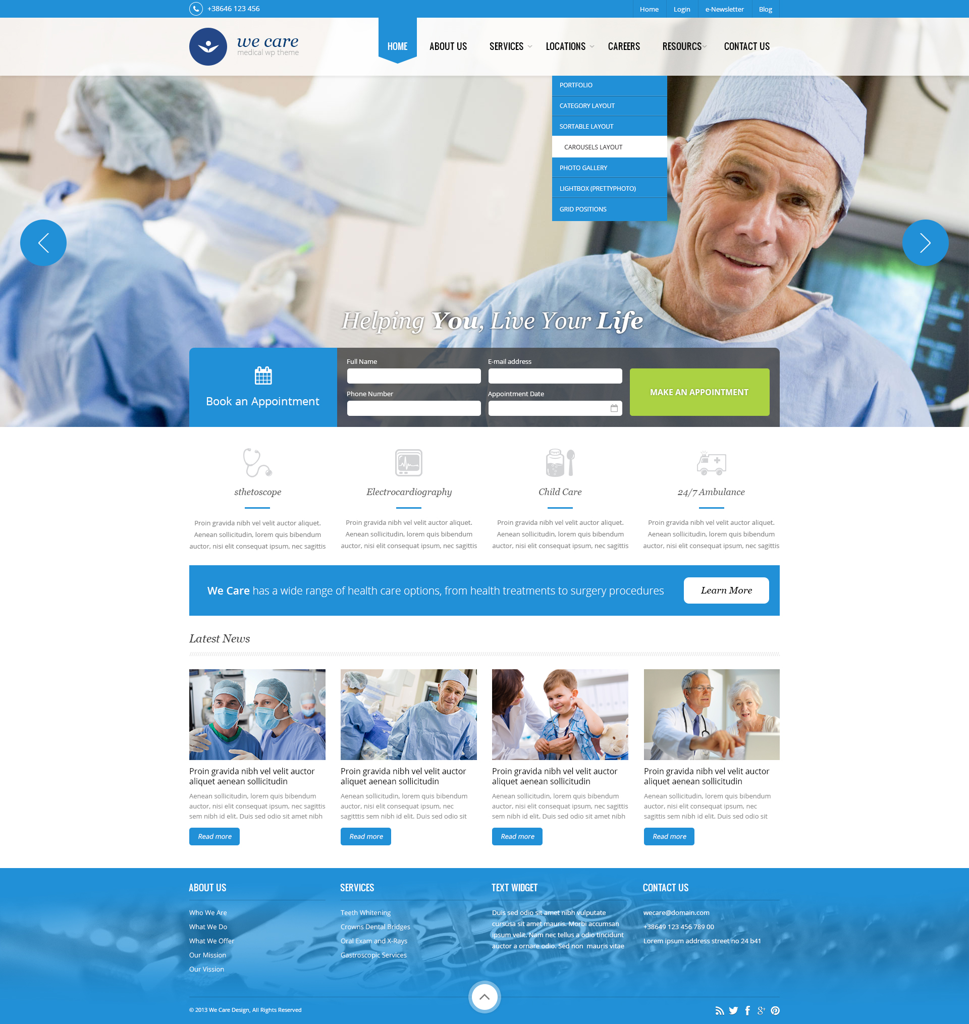Recommended Health WordPress Themes - Wordpress Themes #59