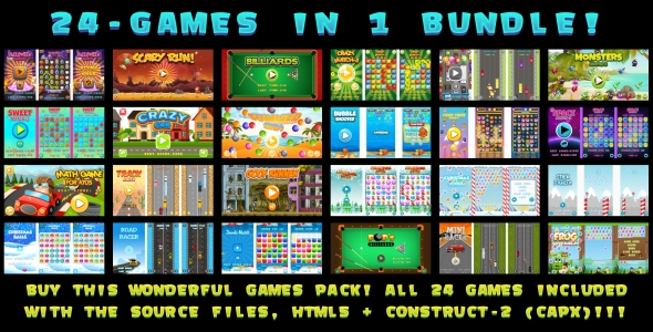 Download 24-GAMES IN 1 BUNDLE! (CAPX) nulled download