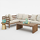 WEST ELM JARDINE OUTDOOR FURNITURE SET