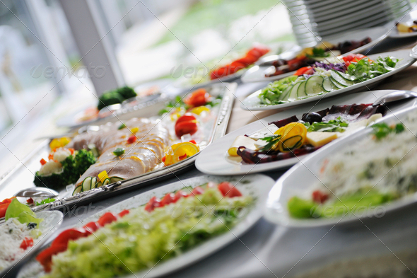 catering food - Stock Photo - Images