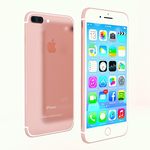 iPhone 7 plus - 3DOcean Item for Sale