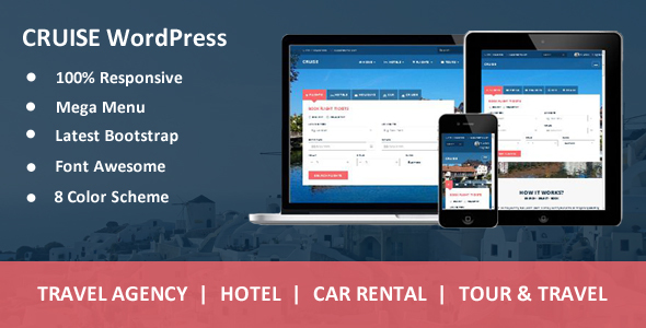 Download Cruise - Responsive Travel Agency WordPress Theme nulled download