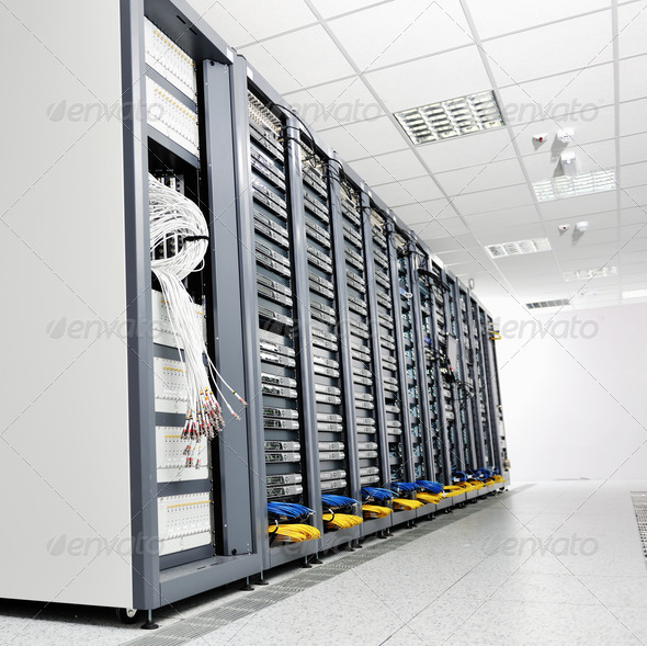 Stock Photo - PhotoDune network server room 1811769