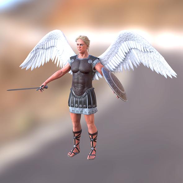 3DOcean Archangel young 18389399