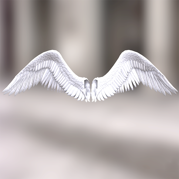 3DOcean Angel wings 18389758