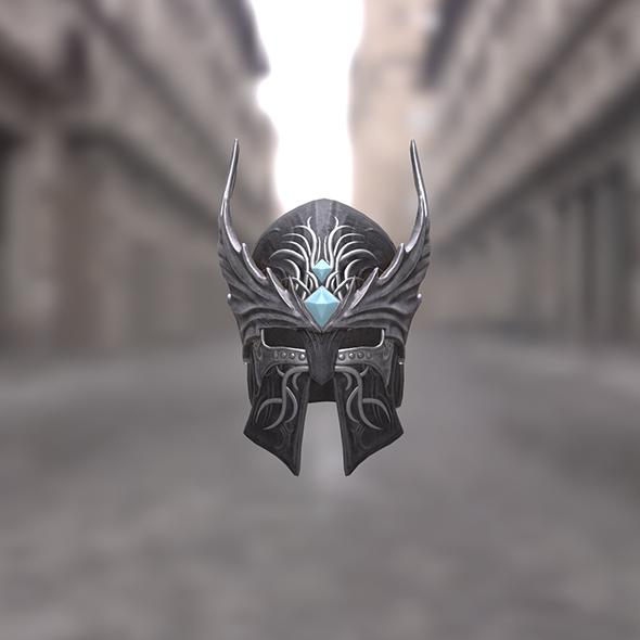 Dragon Wings Helmet - 3DOcean Item for Sale