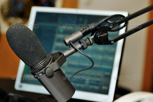 PhotoDune radio station microphone 1812348