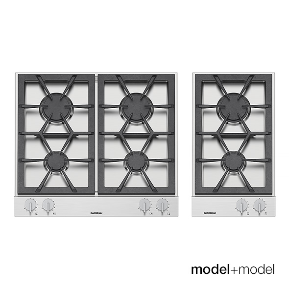 Gaggenau gas cooktops - 3DOcean Item for Sale