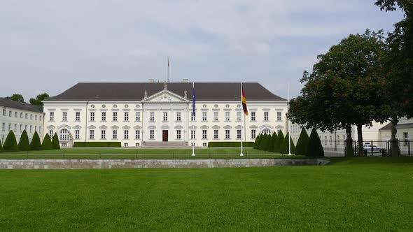 Berlin City - Bellevue Palace - Tiergartenin - Kaupunki Arkistofilmit