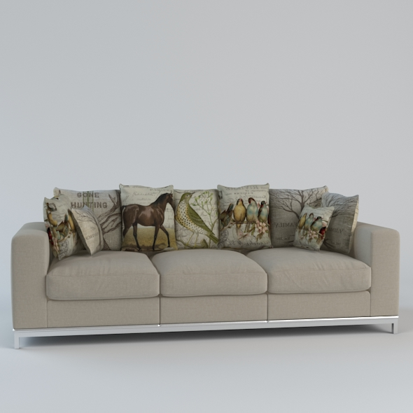 Sofa Bed - 3DOcean Item for Sale