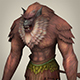 Fantasy Warrior Ape