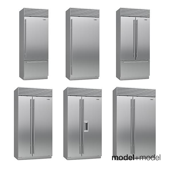 Sub-Zero fridges - 3DOcean Item for Sale