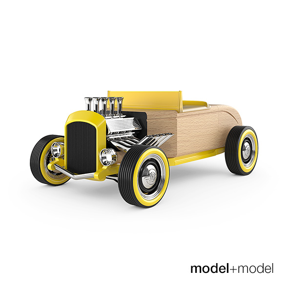 Automoblox Hot Rod toy car - 3DOcean Item for Sale