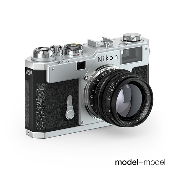 Nikon S3 film camera - 3DOcean Item for Sale