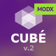 Club Cube v.2 - responsive MODX theme for night club