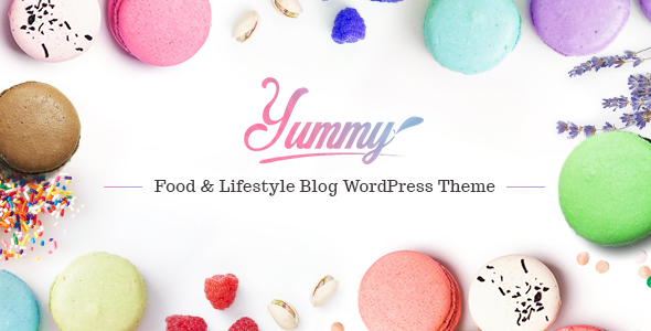 Download Yummy - Food & Lifestyle Blog WordPress Theme nulled download