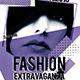 Fashion Extravaganza Party Flyer