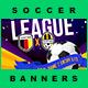 5 Facebook Banners Posts | Soccer Football vol II