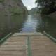 Rafting Trip Along River Between Hill