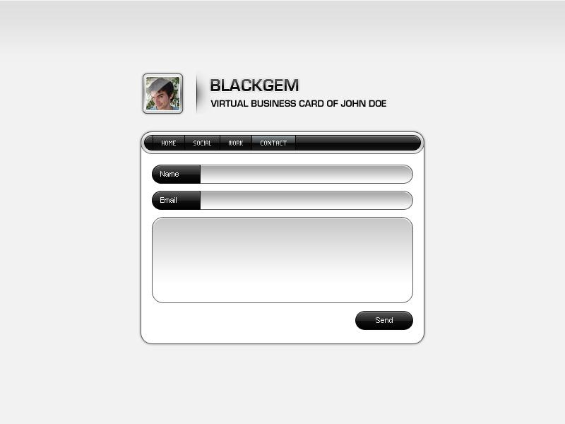 Blackgem vCard