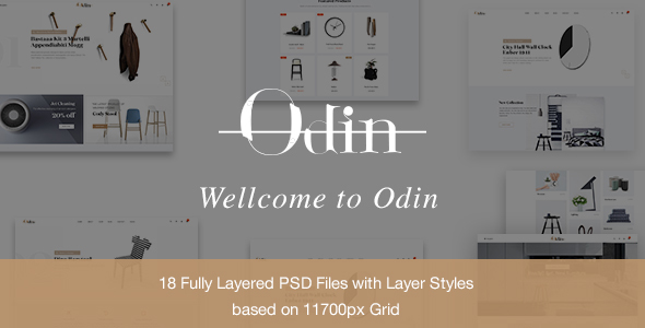 Odin - Multipurpose Ecommerce PSD Template