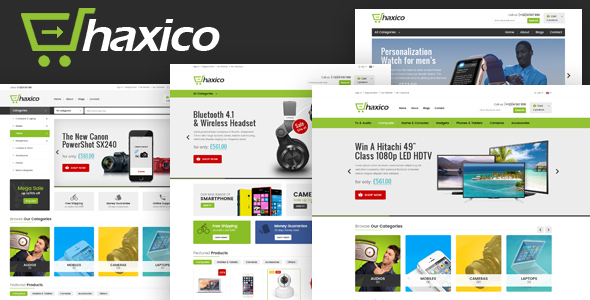 Image of Haxico - Technology Responsive Prestashop Theme