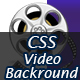 CSS Video Background - Bootstrap Ready CSS Only with Content Overlay