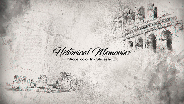 Download Historical Memories // Watercolor Ink Slideshow nulled download