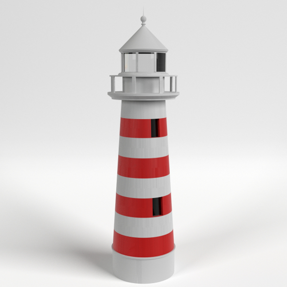 Lighthouse - 3DOcean Item for Sale