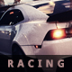 Racing Grunge Cover Facebook