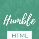 Humble - Personal Blog HTML Template