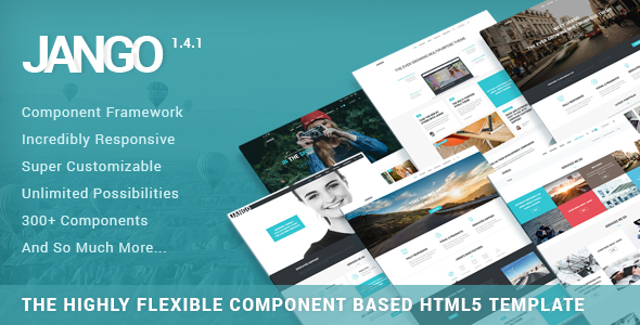 preview 01.  large preview - Jango | Highly Flexible Component Based HTML5 Template