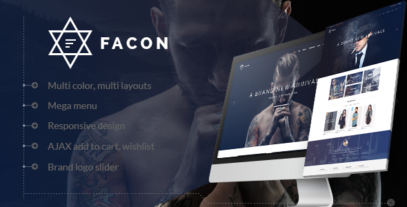 Download Facon - Fashion Responsive Shopify Theme nulled download