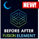 Before/After Image Comparison Element for Avada v5 Fusion Builder