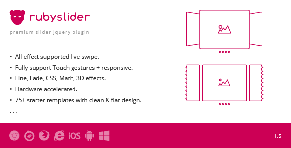 Download Ruby Slider - Live Touch Effect Slider nulled download