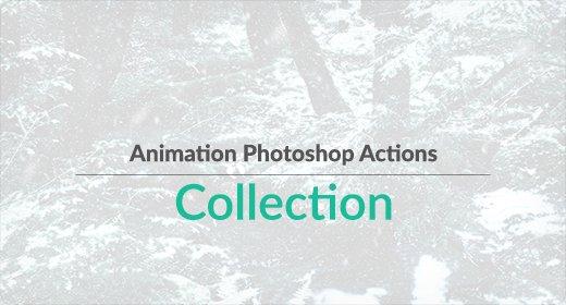 Animation Photoshop Actions