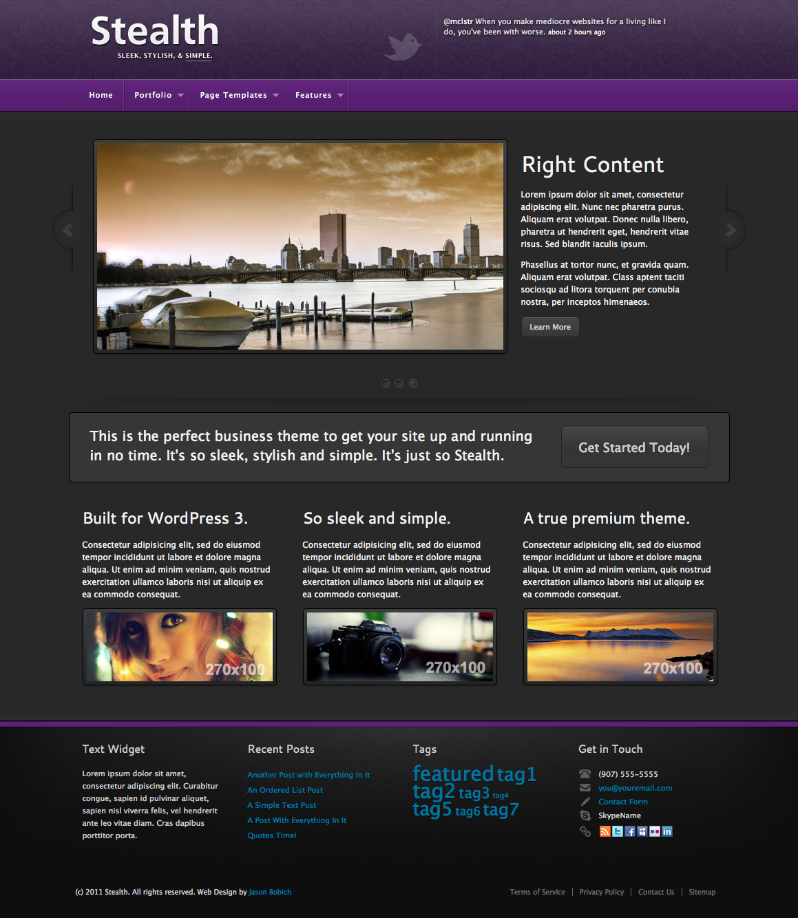 Stealth Premium WordPress Theme