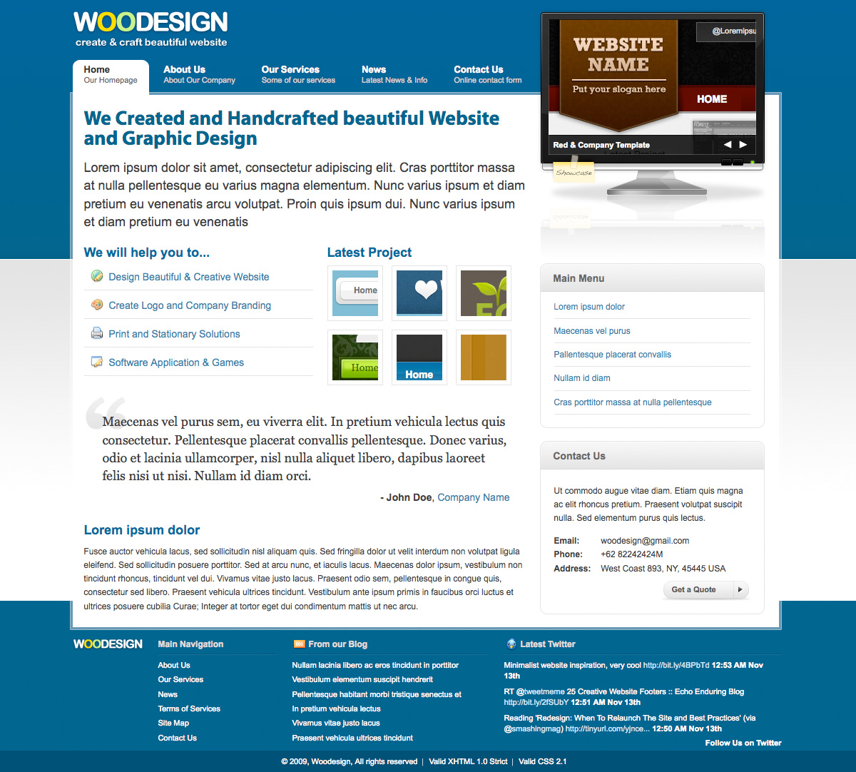 Sleek Design Company (4 Colors) - Sleek Design Company (4 Colors) - Homepage