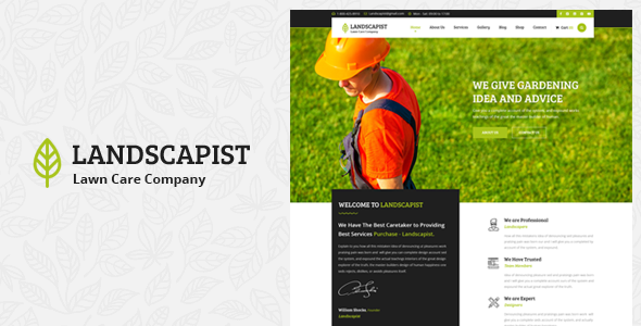 Landscapist - Lawn & Landscaping HTML Template