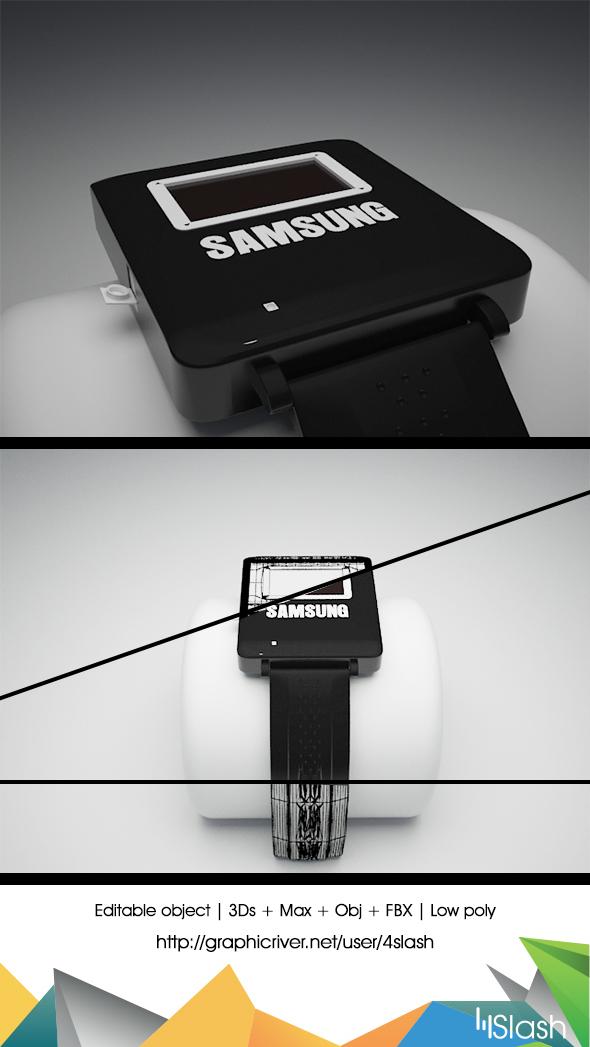 3DOcean Samsung Gear 18417580