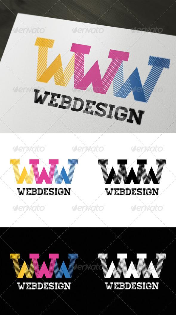 Web Design Logo Template - Letters Logo Templates