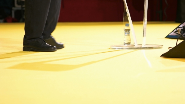 VideoHive Conference Speaker Walking On The Stage 18421514