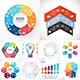 6 Steps Infographics. PSD, EPS, AI.