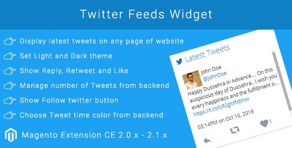 Twitter Feeds Widget